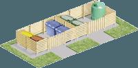 Contenedores para gestión de residuos